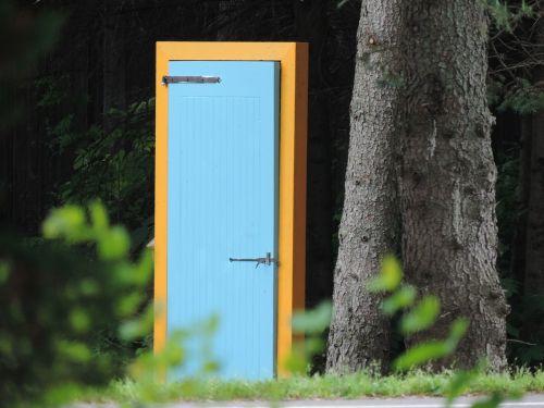 door open strange