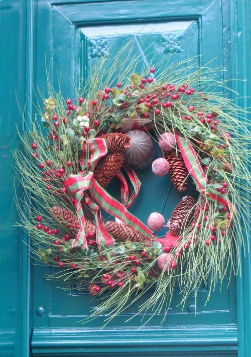 door decoration wreath