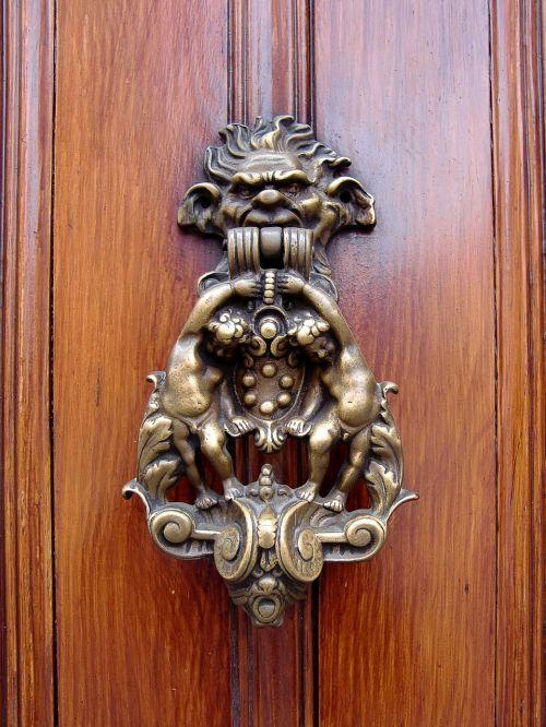 door door handle input