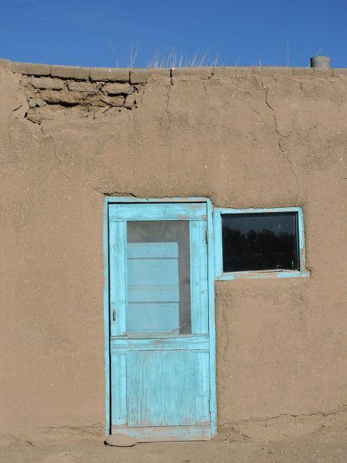 door blue southwest