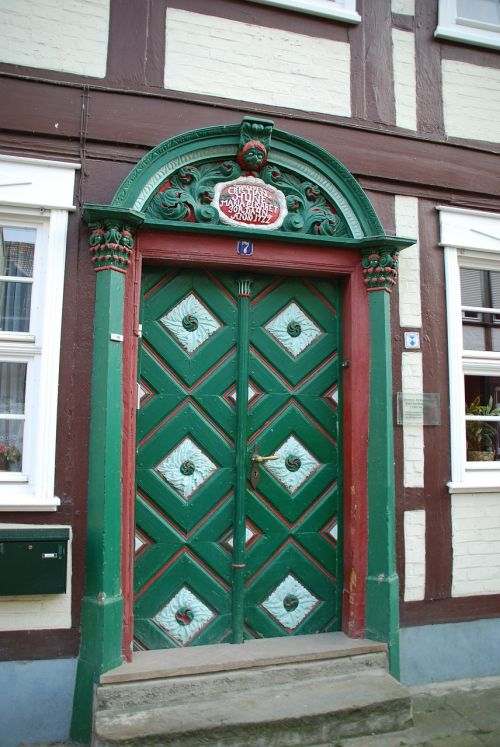 door antique salzwedel