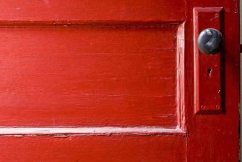 door opportunity red