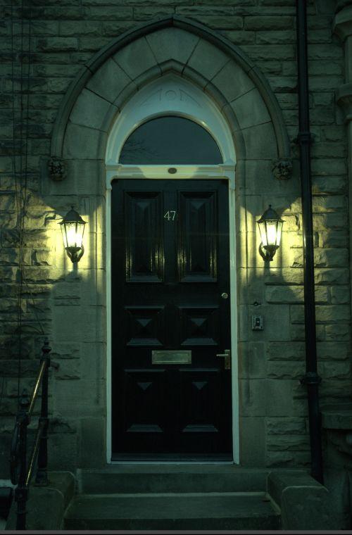 Door And Lanterns