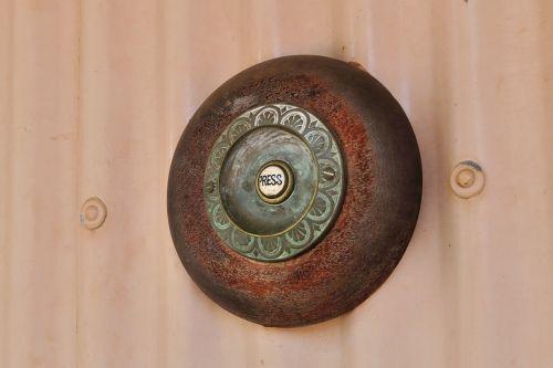 door bell press button