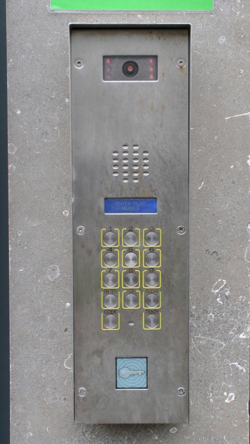 Door Entry Keypad