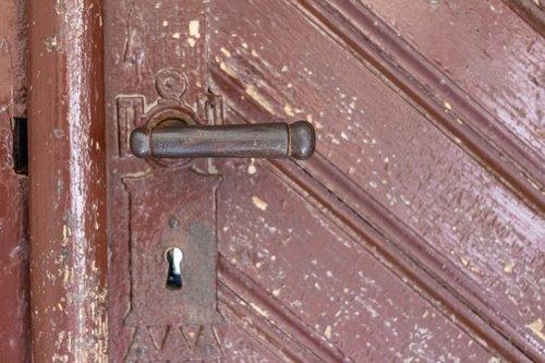 door handle  old  vintage handle