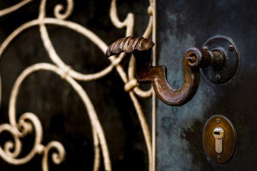 door knob door handle metal