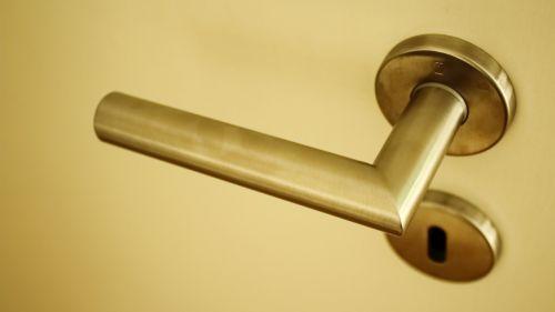 door knob metal close