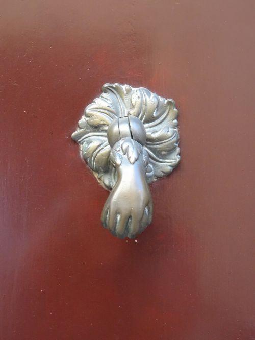 door knocker architecture building
