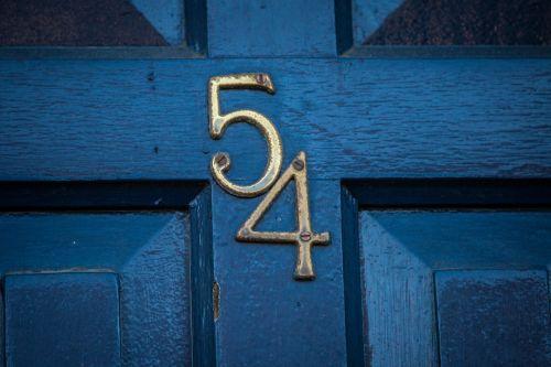 Door Number One Fifty Four