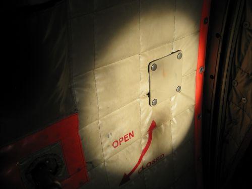 Door Of Cargo Aircraft Interior