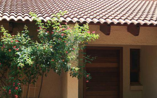 Door Of Cottage