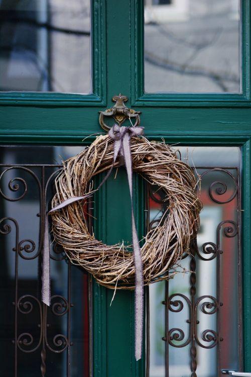 door wreath front door türdekoration