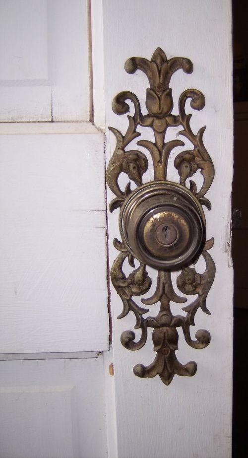doorknob knob filigree