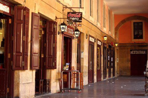 doors shops building