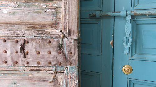 doors antique oriental
