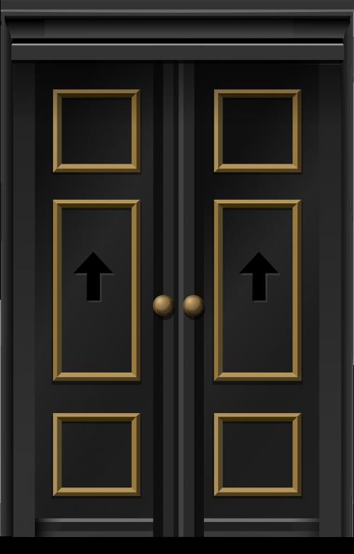 doors double doors entrance
