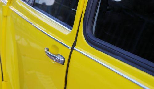 Doors Volkswagen Beetle Close-up