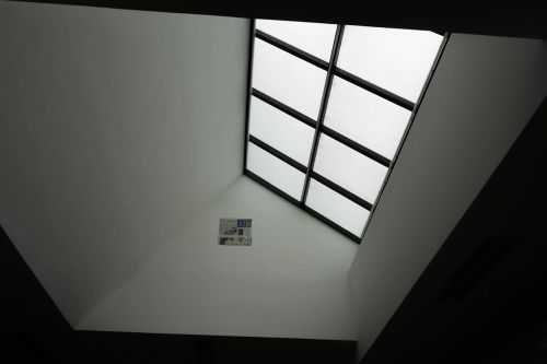 dormer black and white indoor