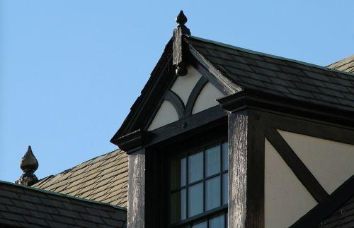 dormer window sloping roof gable