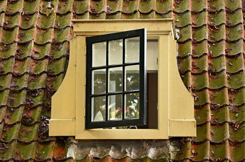 dormer window  pane  classic