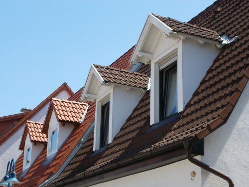 dormer windows roof house