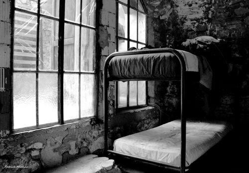 dormitory black white