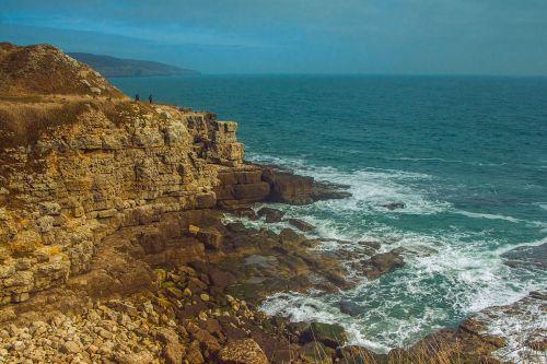 dorset jurassic coast ocean