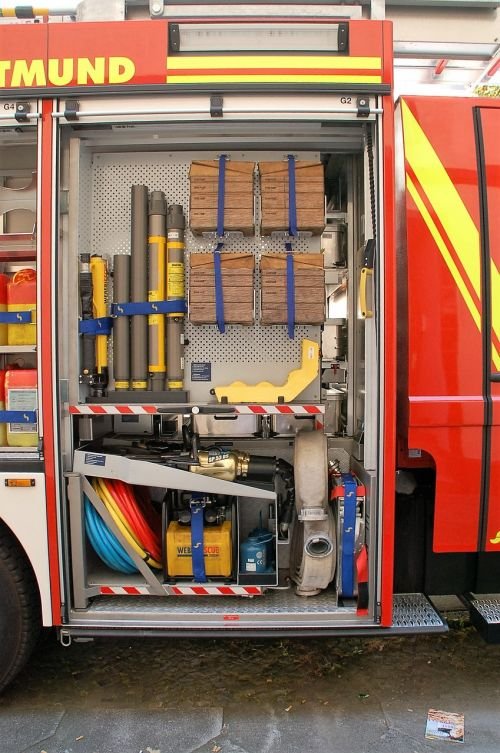 dortmund fire truck equipment
