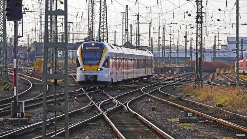 dortmund hbf regional train electrical multiple unit