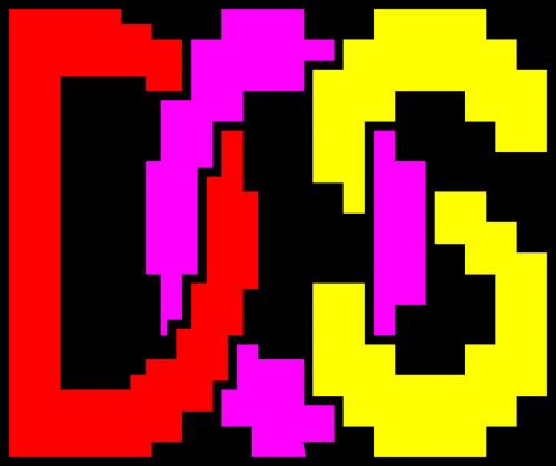 dos operating system logo