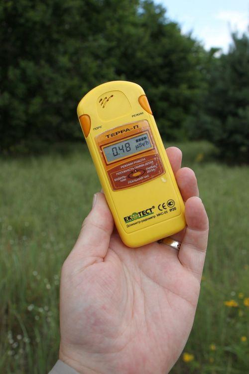dosimeter geiger counter radiation