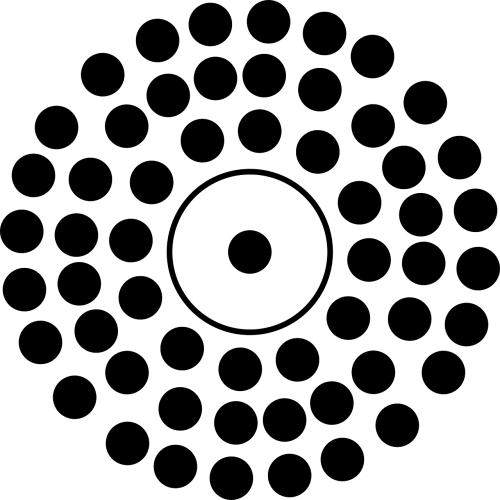 dots circles circular