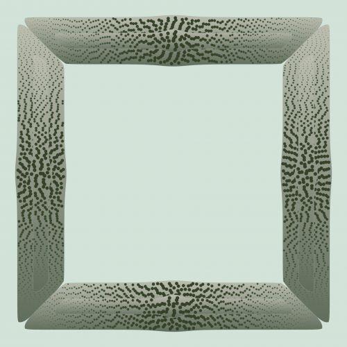 Dotted Light Greenish Frame