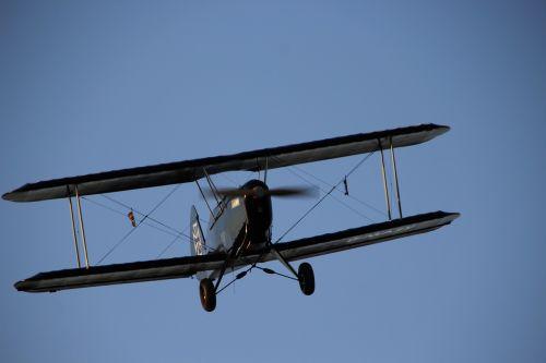 double decker aircraft propeller plane