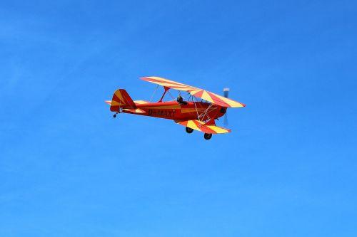 double decker oldtimer aircraft