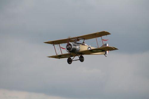 double decker aircraft oldtimer