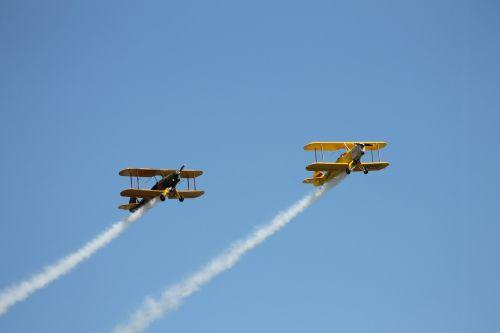 double decker flugshow flyer