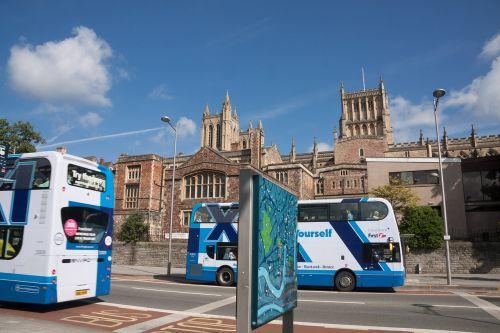 double decker bus bus bristol