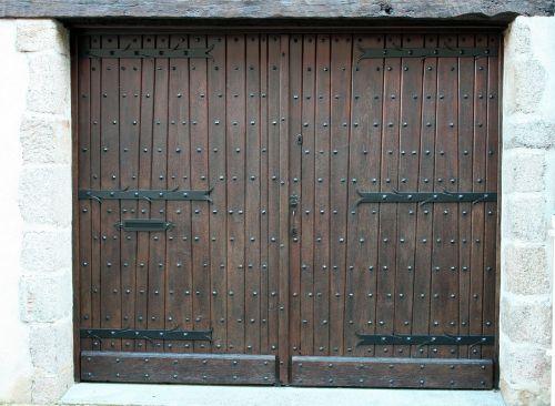 double doors brown doors ancient door