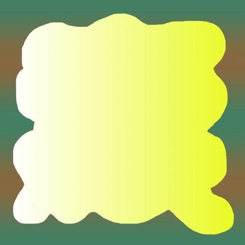 dvigubas, gradientas, ruda, geltona, žalias, vaizdas, nuotrauka, rėmas, dvigubas gradiento rėmas