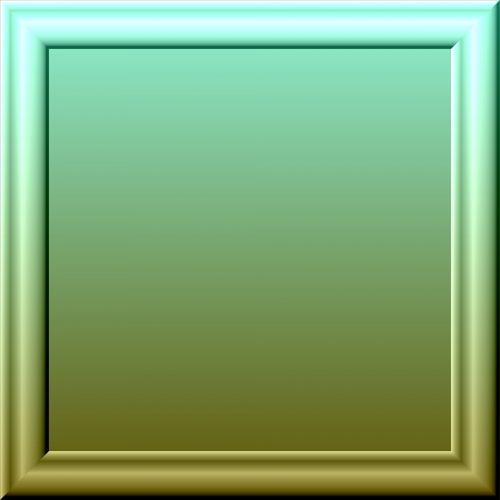 3d, rėmas, stiklas, dvigubas, žalias, gradientas, fonas, dvigubas žalia gradiento rėmas