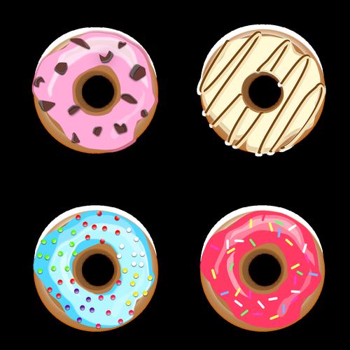doughnut  cakes  bakery