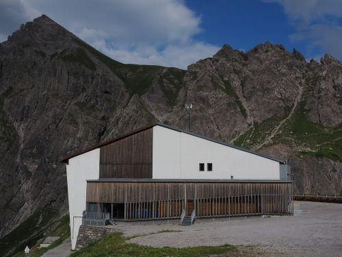 douglas cottage hut mountain hut
