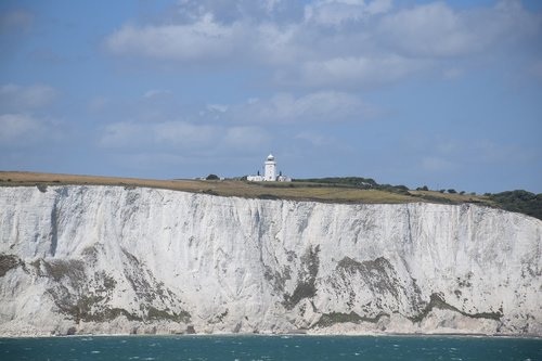 dover  lighthouse  white
