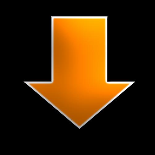 down arrow yellow