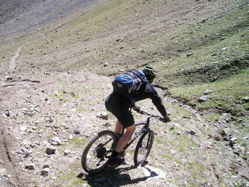 downhill mountain bike bike