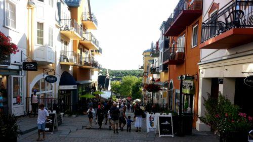 žmonės, centro, miestas, kaimas, turistinis, apsipirkimas, vaikščioti, vaikščioti, miesto centre