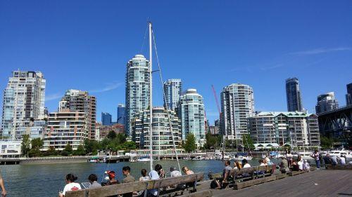 downtown british columbia canada