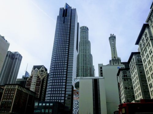 downtown los angeles cityscape skyline